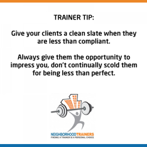 give your clients a clean slate
